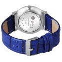 Jainx Blue Slim Dial Analog Watch - For Men JM354
