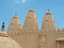 FRP Temple Dome