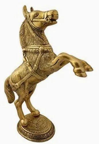 Metal Horse for Interior Decor