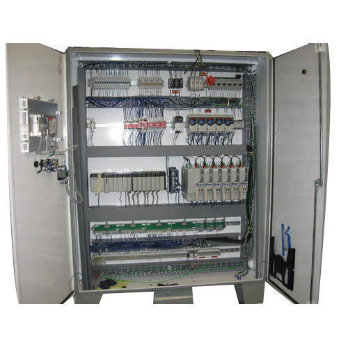 Mild Steel Electrical PLC Control Panel