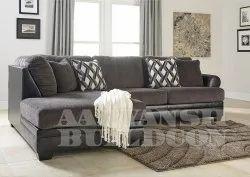 Wood European L Shape Sofa Set, Size: Traditional, Warranty: 2 Years