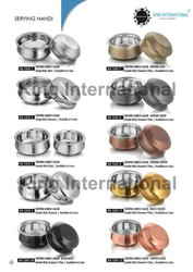 Hotelware Steel Items Handi and Kadhai