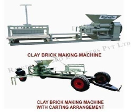 Clay Brick Making Machine - Manual Clay Brick Making Machine