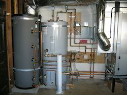 Geothermal Water Heating System