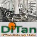 PP Woven Sacks Bags Fabric