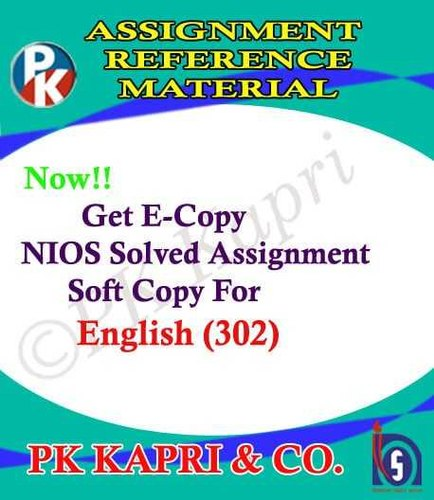 Nios Assignment Book In Pdf For 10th & 12th Class