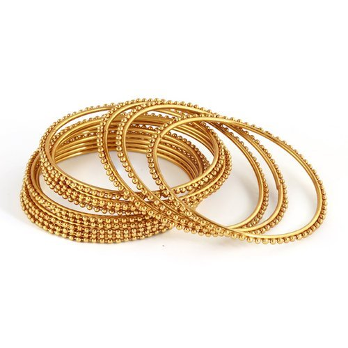 5f6cdc49159 Party Wear Sukkhi Glimmery Gold Plated Bangles For Women Set Of 12 ...