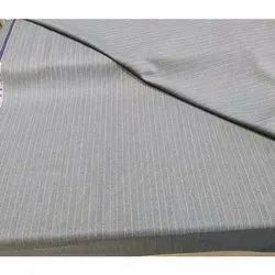 Grey Raymond's Poly Wool Suiting Fabric, 170-200 GSM