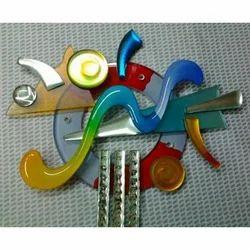 Multicolor Glass Mural Items