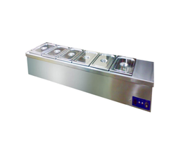 Chinese Gas Range Table Top Bain Marie