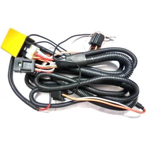 Car Dual Head Lamp Wiring Harness