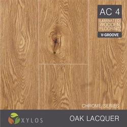 Oak Lacquer Laminate Wooden Flooring