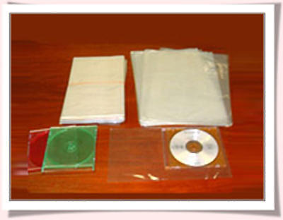 White Straight Sealed Shrink Bags