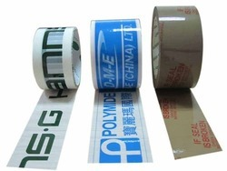 Printed BOPP Tapes