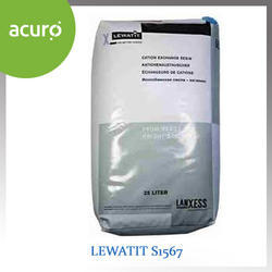 Lewatit S1567 Acidic Cation Exchange Resin