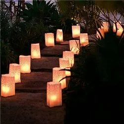candle luminary bags fire retardant delivery all over india