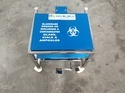 Bio Medical Waste Trolley For Glass