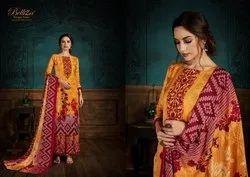 Belliza Designer Studio Zubeda Vol 2 Pashmina Digital Printed Salwar Suit