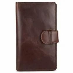 RFID Blocking Genuine Leather Passport Holder