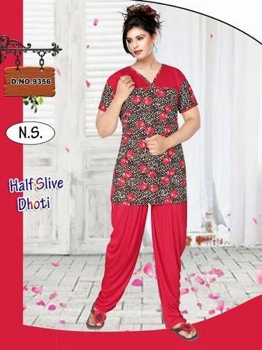 8efa31158 Designer Ladies Night Suit at Rs 450  piece