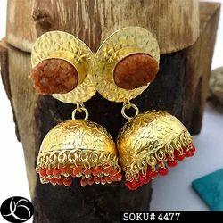 Druzy Earring