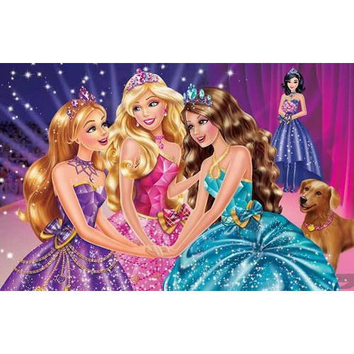 Pvc Barbie Princess Doll Wallpaper Rs 65 Square Feet Sk Decor