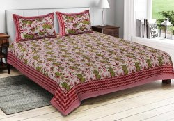 Printed Cotton Bad Sheet