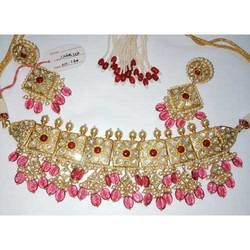 Party Wear Kundan Necklace Set