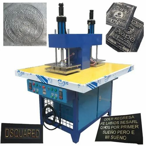 Leather And Clothes Embossing Machine
