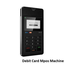 Debit Card Mpos Machine