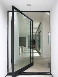 Entrance Door Glass
