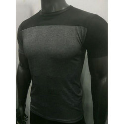 Men Black Sports T-Shirts