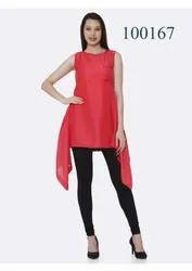 Party Wear Top Style Kurti By Parvati Fabric