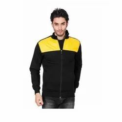 UB-JAC-M-005 Black With Yellow Jacket For Male