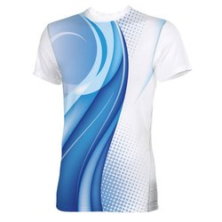 Polyester Mens Sublimation T Shirts