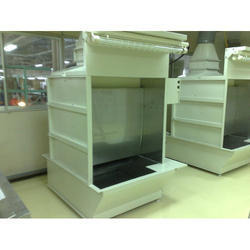 Semi-Automatic Wagner Painted Water Wash Spray Paint Booth