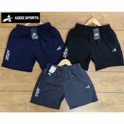 Addiz Thigh Length Men Lycra Sport Shorts, Size: S to XXL