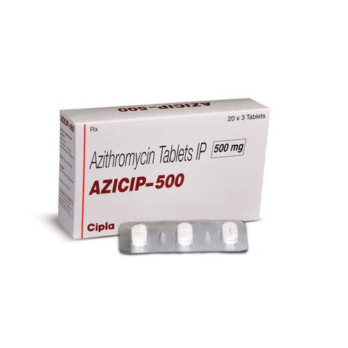 Cipla Azithromycin Tablets, 20x3 Tablet