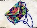 Designer Rajasthani Embroidery Sling Bag