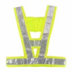 Green Orange Reflective Belt For Safety