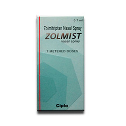Zolmitriptan Nasal Spray