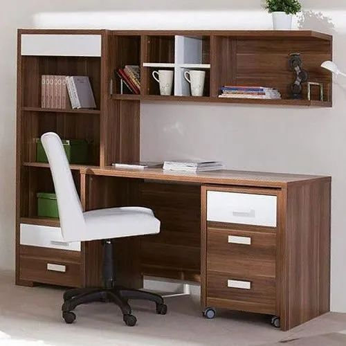 Brown Wood Wooden Study Tables, 1 Piece