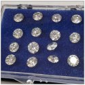 Lab Grown Diamond 3.65mm To 3.90mm DEF VVS VS Round Brilliant Cut HPHT