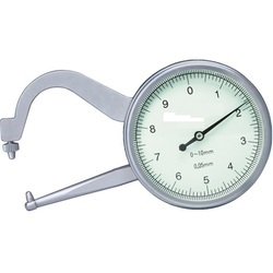 Thickness Gage (Arm Length 35mm), 0-10mm, Graduation 0.05mm