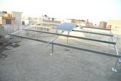 Solar Power Plant Steel Structure