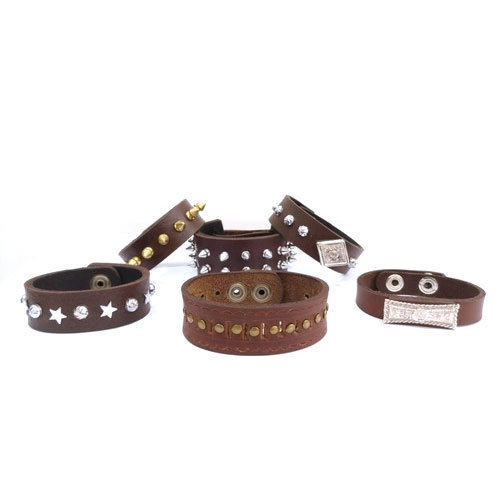 Men' s Leather Bracelet