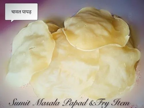 Rice Papad - View Specifications & Details of Rice Papad by