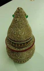 Golden Meenakari Kalash