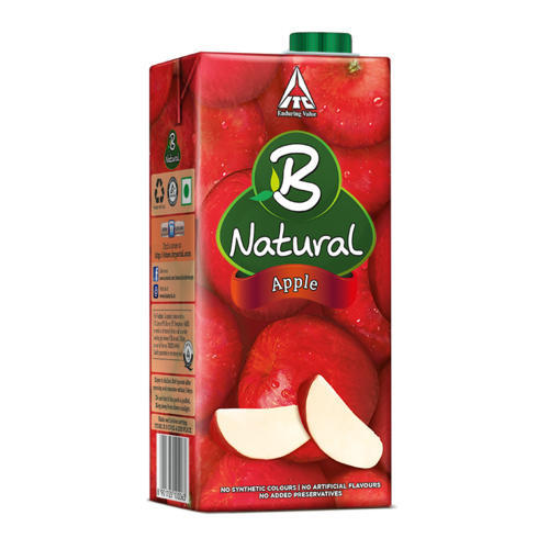 ITC Limited B Natural Fresh Apple Juice Packaging Size 200ml