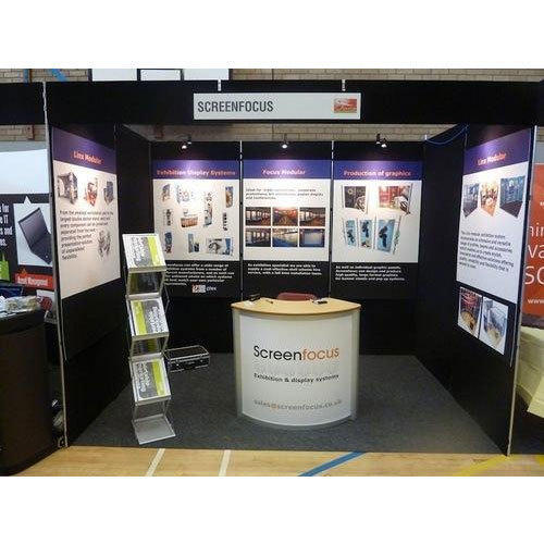 Exhibition Stand Activities : Custom exhibition stand for promotional activities rs